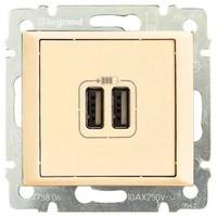 Розетка USB Legrand Valena 774170 слоновая кость