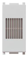 Зуммер 12 В~ (ИН) 50/60 Гц VIMAR PLANA 14375.SL серебро