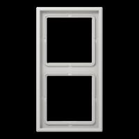 Рамка 2 поста Jung LS990 LS982LG серый