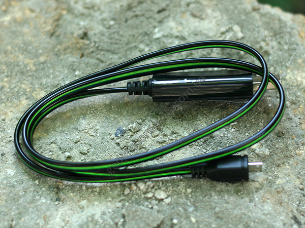 Дата кабель (светящийся бегущий) Navsailor MicroUSB (C-L301)