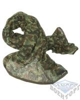 Сетка-шарф маскировочная камуфляж флектарн 190х90 см (65% полиэстер/35% хлопок)