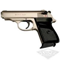 Пистолет стартовый Ekol MAJOR (7 патронов 1) хром