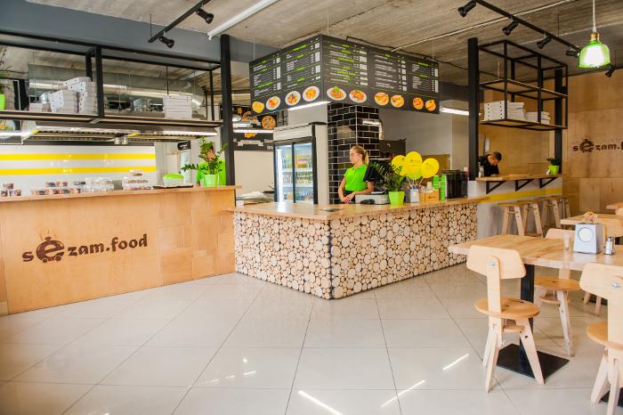 Интерьер современной восточной кухни