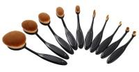 """Набор профессиональных кистей для макияжа """"Mermaid multipurpose brush"""" (10 штук)"""