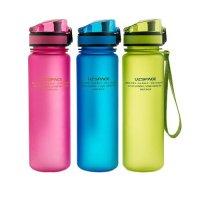 Спортивная бутылка для воды Uzspace 500 мл (4 цвета)