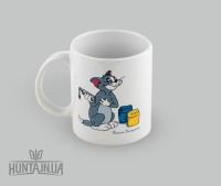 "Чашка ""Фашик Донецкий"", белая"