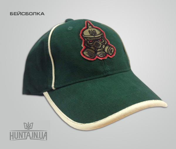 Бейсболка 'huntainua', зеленая