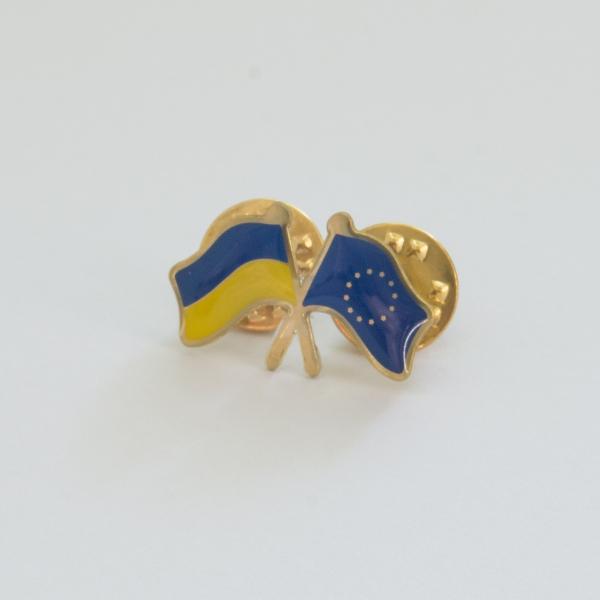 """Значок """"Украина-Евросоюз"""""""