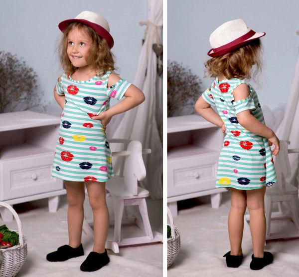 Платье морячки детское