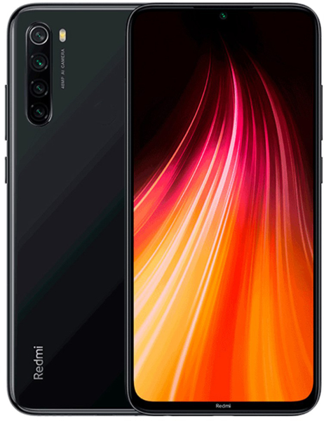 Смартфон Xiaomi Redmi Note 8 6/128 GB (Space Black , Neptune Blue)