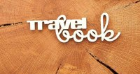 "Чипборд ""Travel Book 4 большой"""