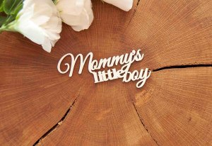 "Чипборд ""Mommy's little boy"""