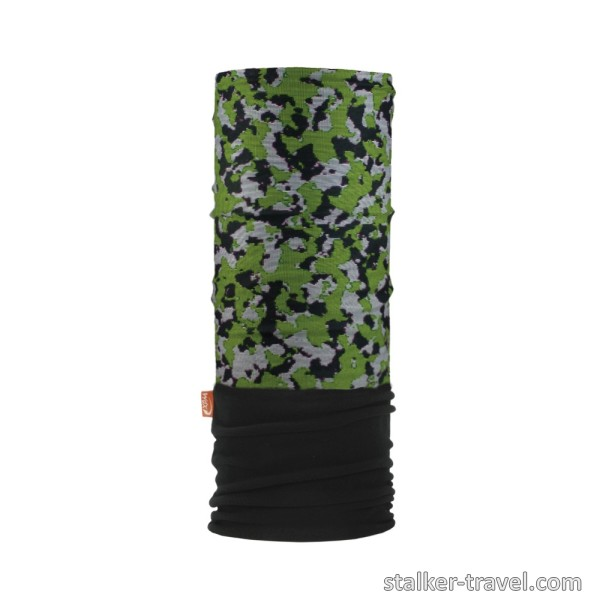 Повязка Wind x-treme Polarwind Digital Camo Green