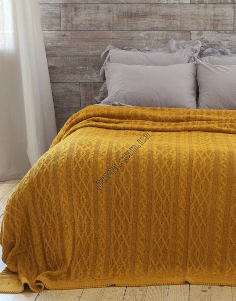 Покривало 220x240 BETIRES DOLCE MUSTARD (50% бавовна, 50% акрил)