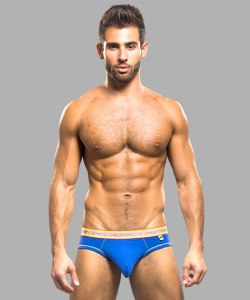 Брифы Andrew Christian Flash Blue