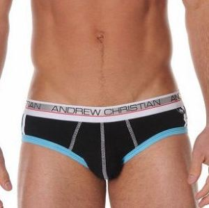 Брифы Andrew Christian Arena Show-It Tech Black