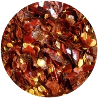RED HOT CHILI PEPPER Crushed Spice King - real view
