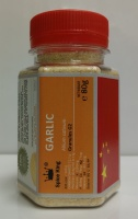 GARLIC Granules G1 Spice King - 100ml PET jar - 70 g net weight