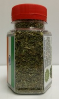 STEVIA Chopped leaves Spice King - 100ml PET jar - 25 g net weight