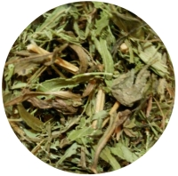 STEVIA Chopped leaves Spice King - real view