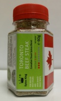 TORONTO BEEFSTEAK Spice King - 100ml PET jar - 60 g net weight