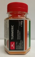 TURMERIC Spice King - 100 ml PET jar - 60 g net weight