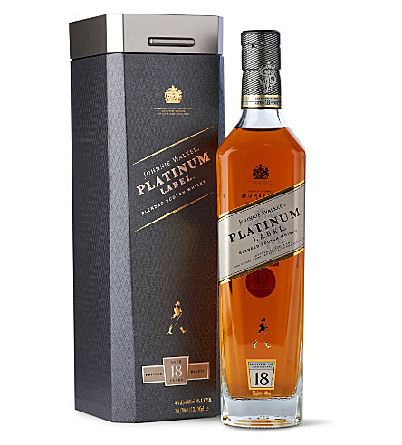 Виски Johnnie Walker Platinum Label Blended Scotch Whisky