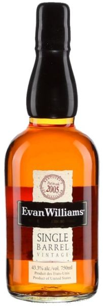 Купить Виски EVAN WILLIAMS Single Barrel Bourbon Whiskey