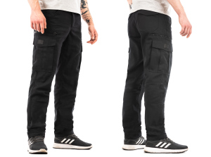Tempest - Explorer M2 black cargo pants
