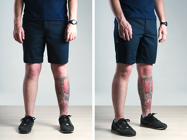 Vovkulak Walker Navy shorts