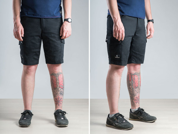 Vovkulak Scout black shorts