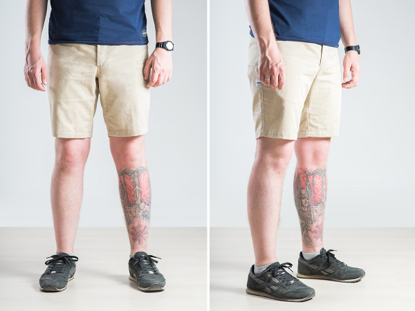 Vovkulak Walker Sand shorts