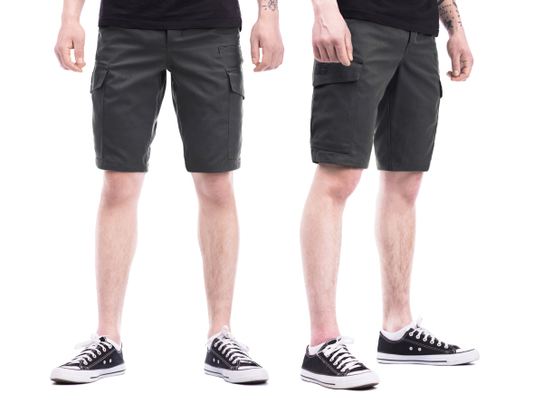 Tempest - Scout grey cargo shorts