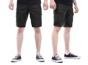 Tempest - Scout 2020 black rip-stop cargo shorts