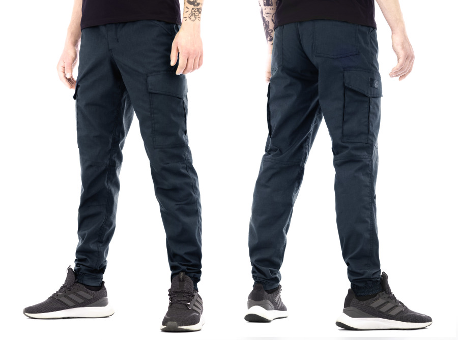 Tempest - Raider, Jogger cargo blue rip-stop pants
