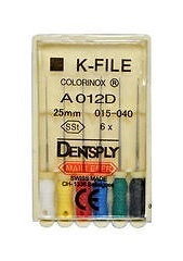 K-FILES Colorinox 25mm Maillefer