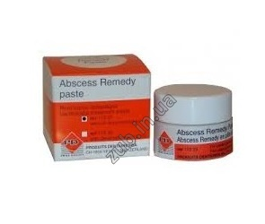 Абсцесс Ремеди \ Abscess Remedy paste с дексаметазоном