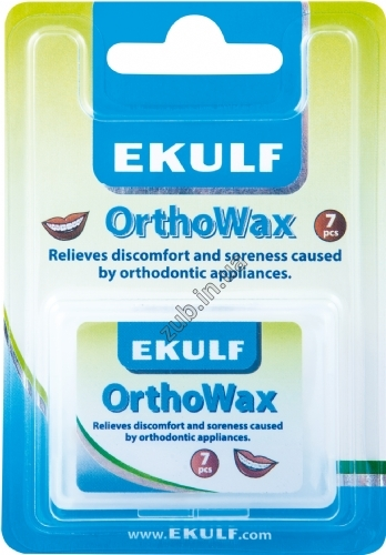 Віск для брекетів EKULF OrthoWax