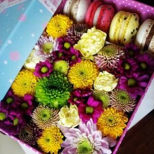 Flowers in box №6