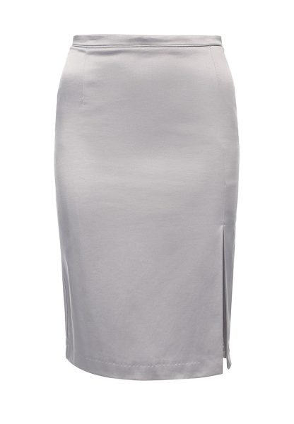 Oodji fitted skirt with a cut
