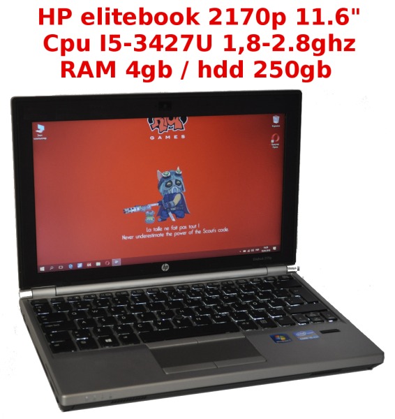 11.6``- HP elitebook 2170p - i5 / 4gb / hdd 250gb /   - б.в.