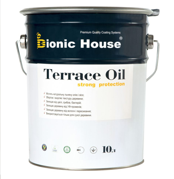 Масло, олия для террас Terrace Oil Bionic-House (1 л.)