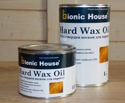 Масло воск для пола, паркета Hard Wax Oil (1 л.)