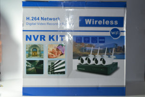 Комплект H.264 Wireless P2P NVR 4 Channel Network Video Recorder Kit WiFi 720P IP Camera Night Vision