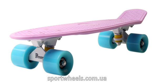 Penny Board Australia Rose White Blue