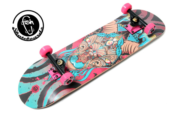 Скейт Fish Skateboards Aries | Скейтборд Фиш Овен