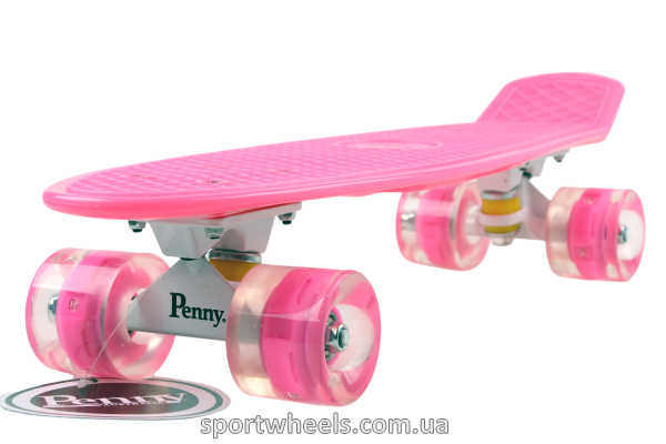 Penny Australia Rose White LED Wheels